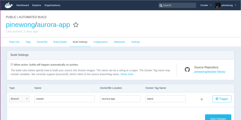 Docker Hub与GitHub项目关联